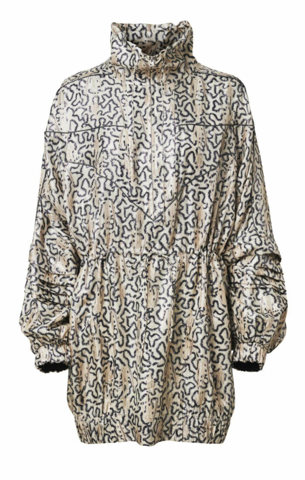 H&M Conscious Exclusive 2019 mönstrad jacka med hög krage