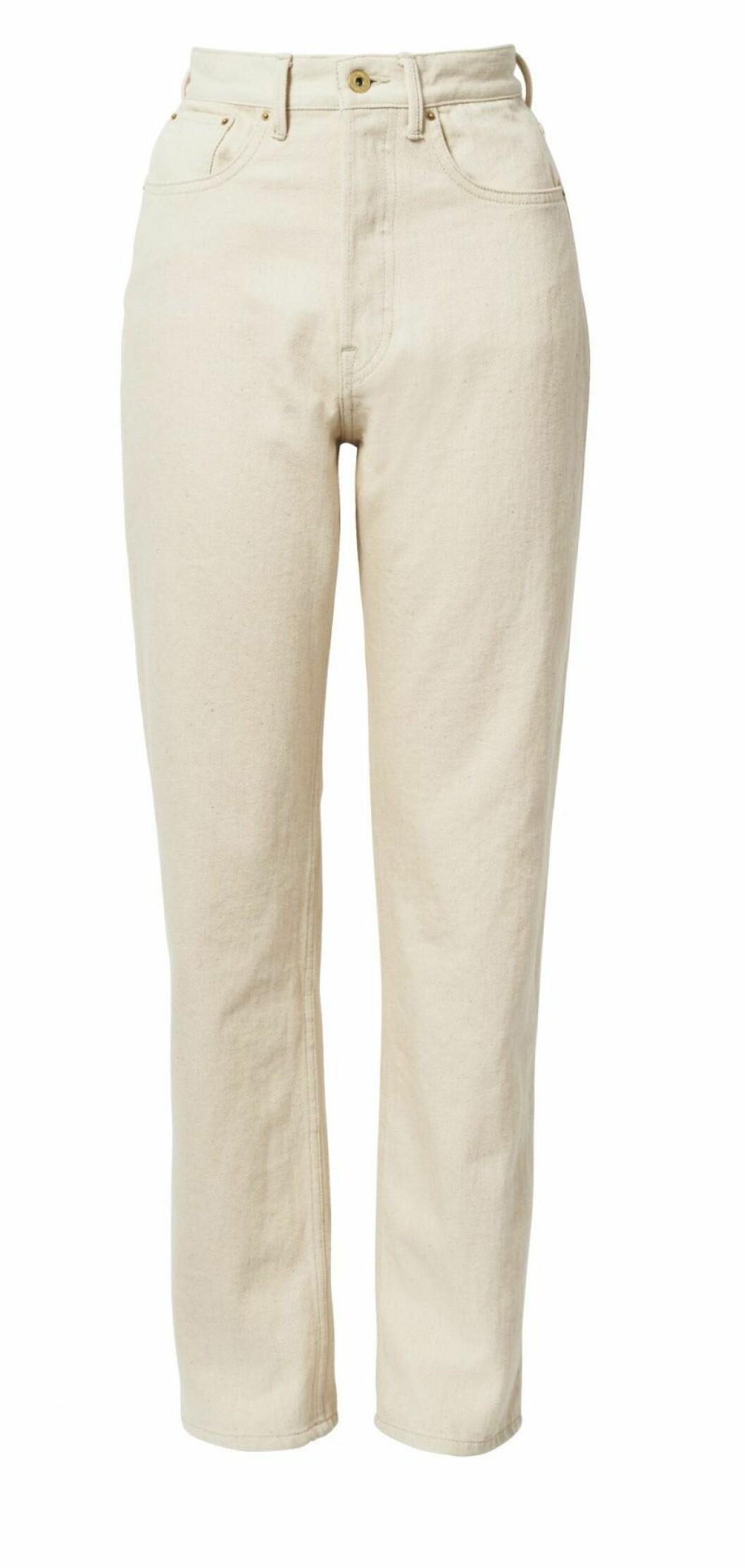 H&M Conscious Exclusive beige jeans