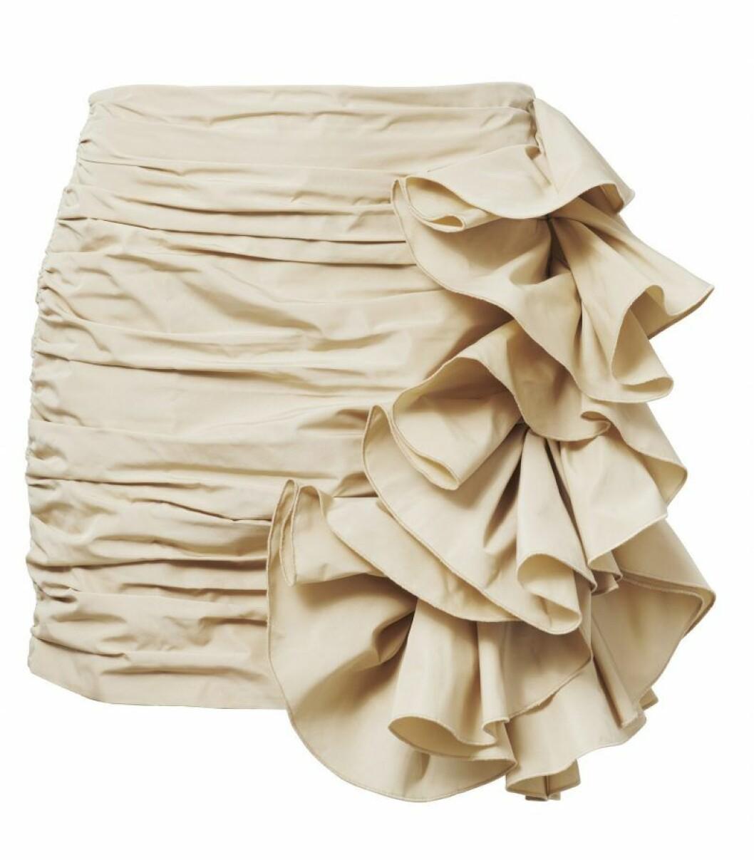 H&M Conscious Exclusive SS20 beige kjol