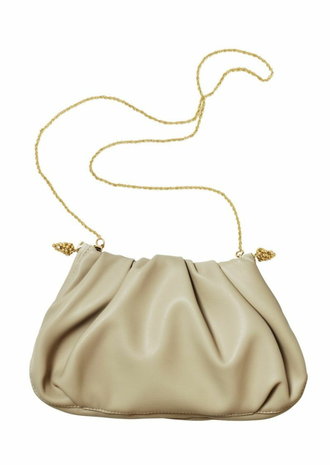 H&M Conscious Exclusive beige väska