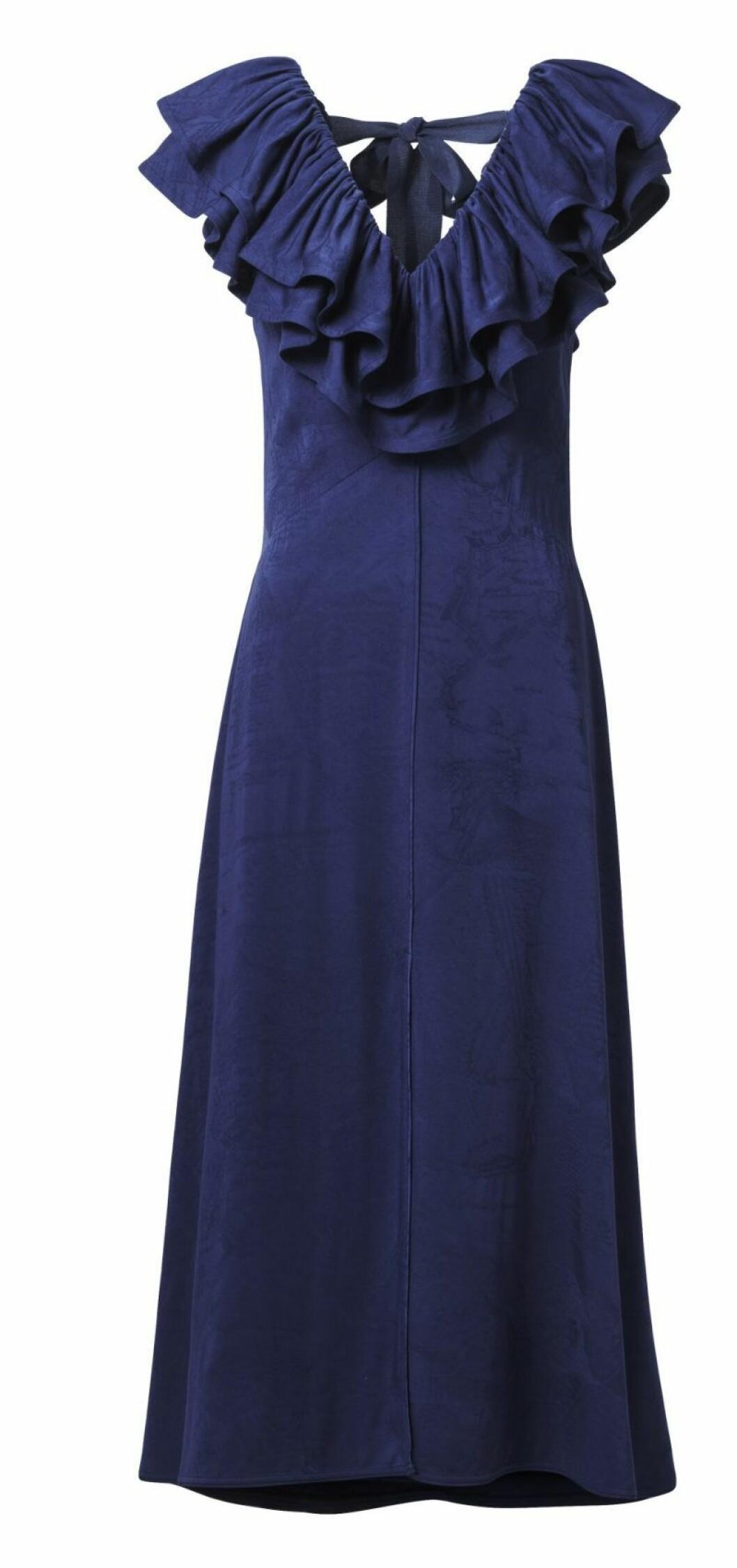 H&M Conscious Exclusive SS20 blå klänning