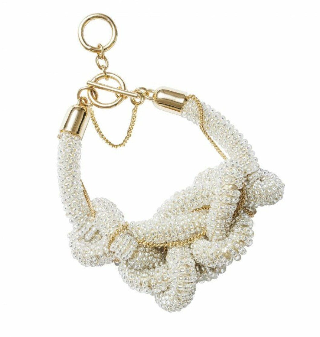 H&M Conscious Exclusive SS20 halsband pärlor