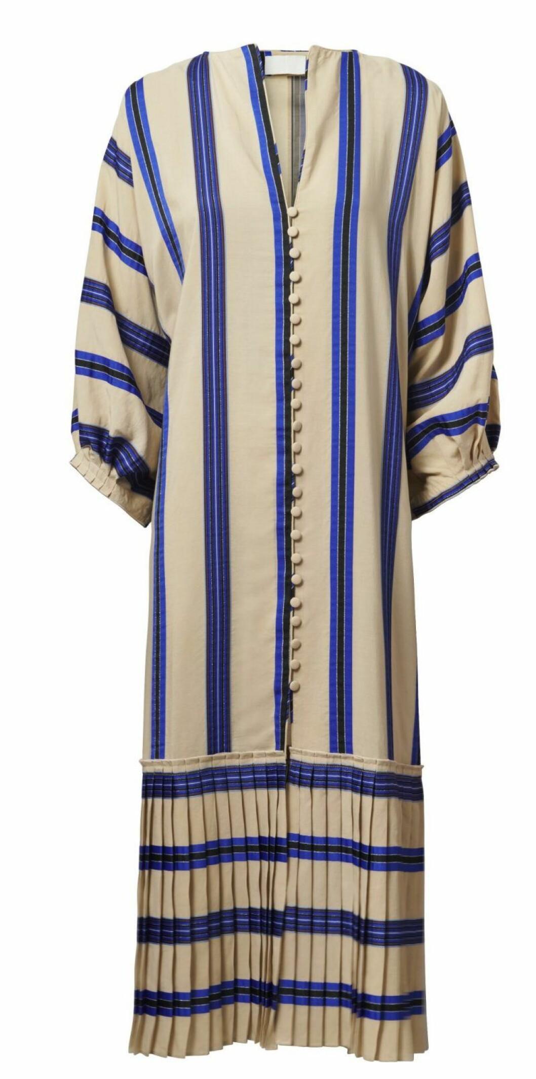 H&M Conscious Exclusive SS20 randig klänning