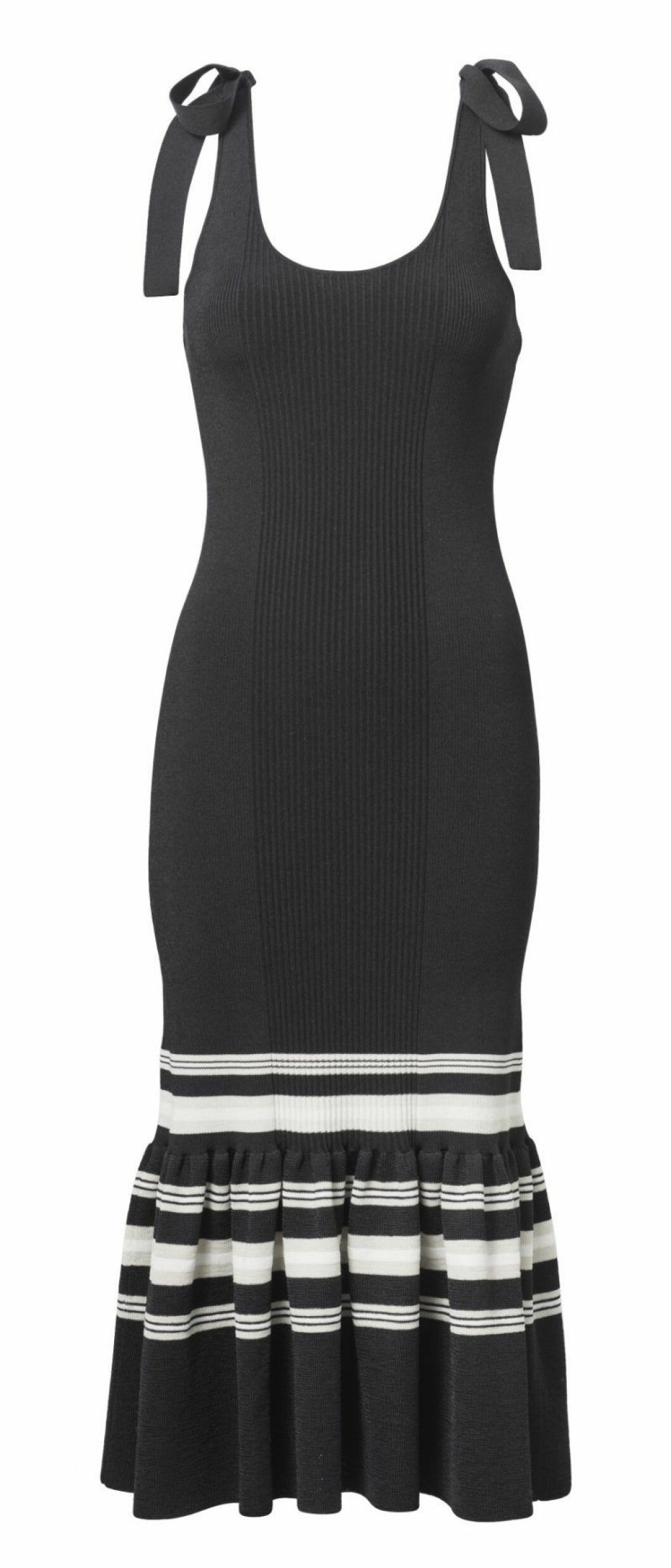 H&M Conscious Exclusive SS20 stickad klänning