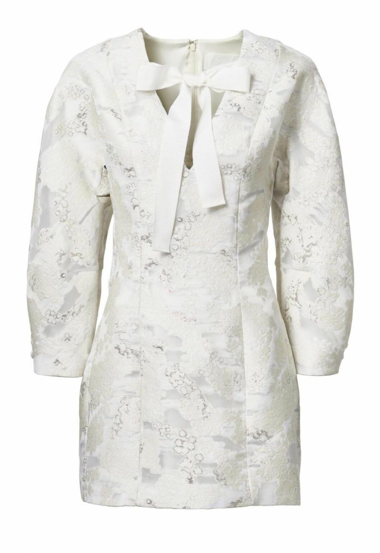 H&M Conscious Exclusive SS20 vit klänning