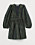 Mönstrad omlottklänning i stadig, jacquardvävd kvalitet av återvunnen polyester. Klänningen har djup v-ringning och långa, voluminösa puffärmar. Klänning från H&M.