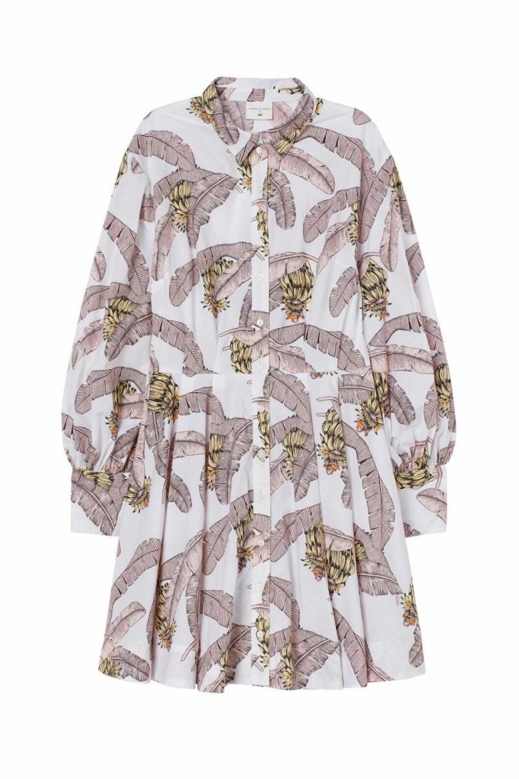 H&M x Desmond & Dempsey sommarkollektion 2020: skjortklänning