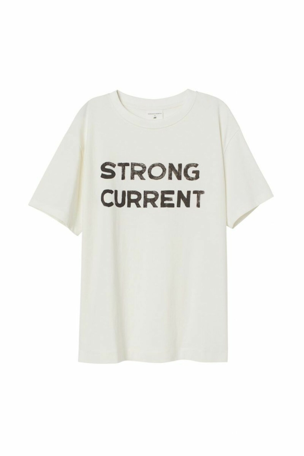 H&M x Desmond & Dempsey sommarkollektion 2020: Vit t-shirt