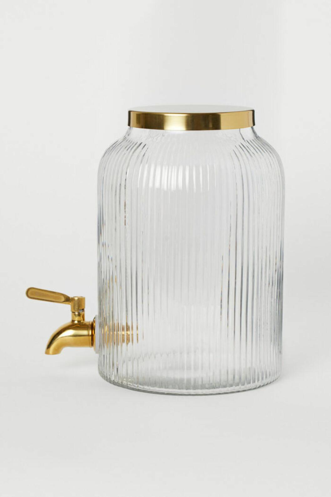 Glasbehållare med kran från H&M home