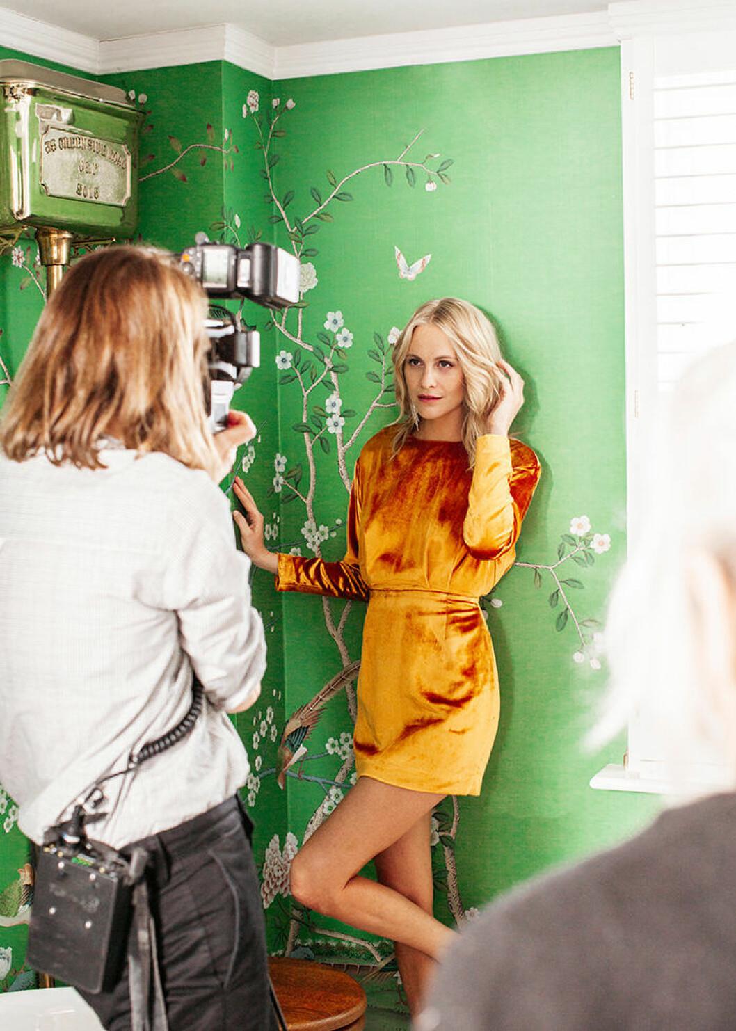 Poppy Delevingne är ansiktet utåt för H&M Homes höstkollektion