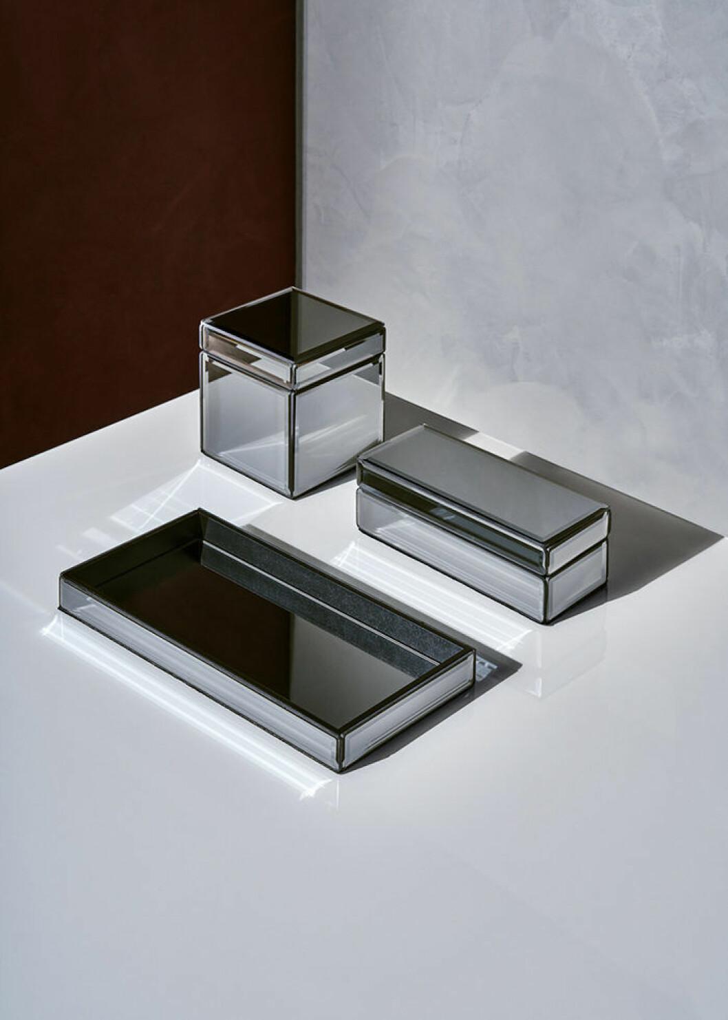 Askar i spegelglas från H&M Homes höstkollektion