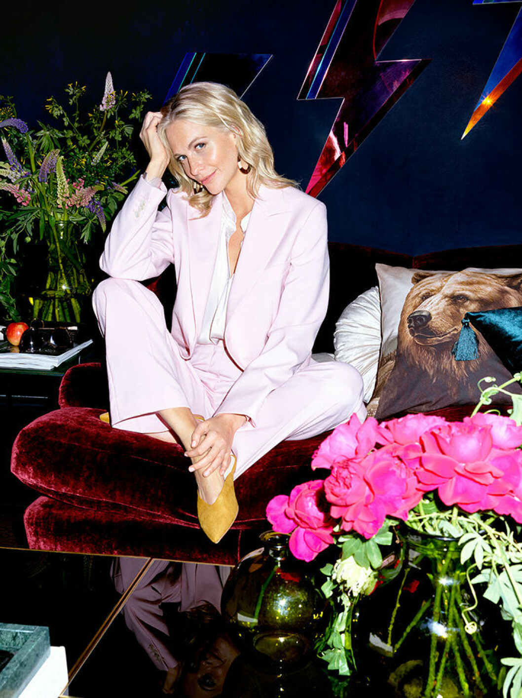 Poppy Delevingne frontar H&M Homes höstkampanj 2019