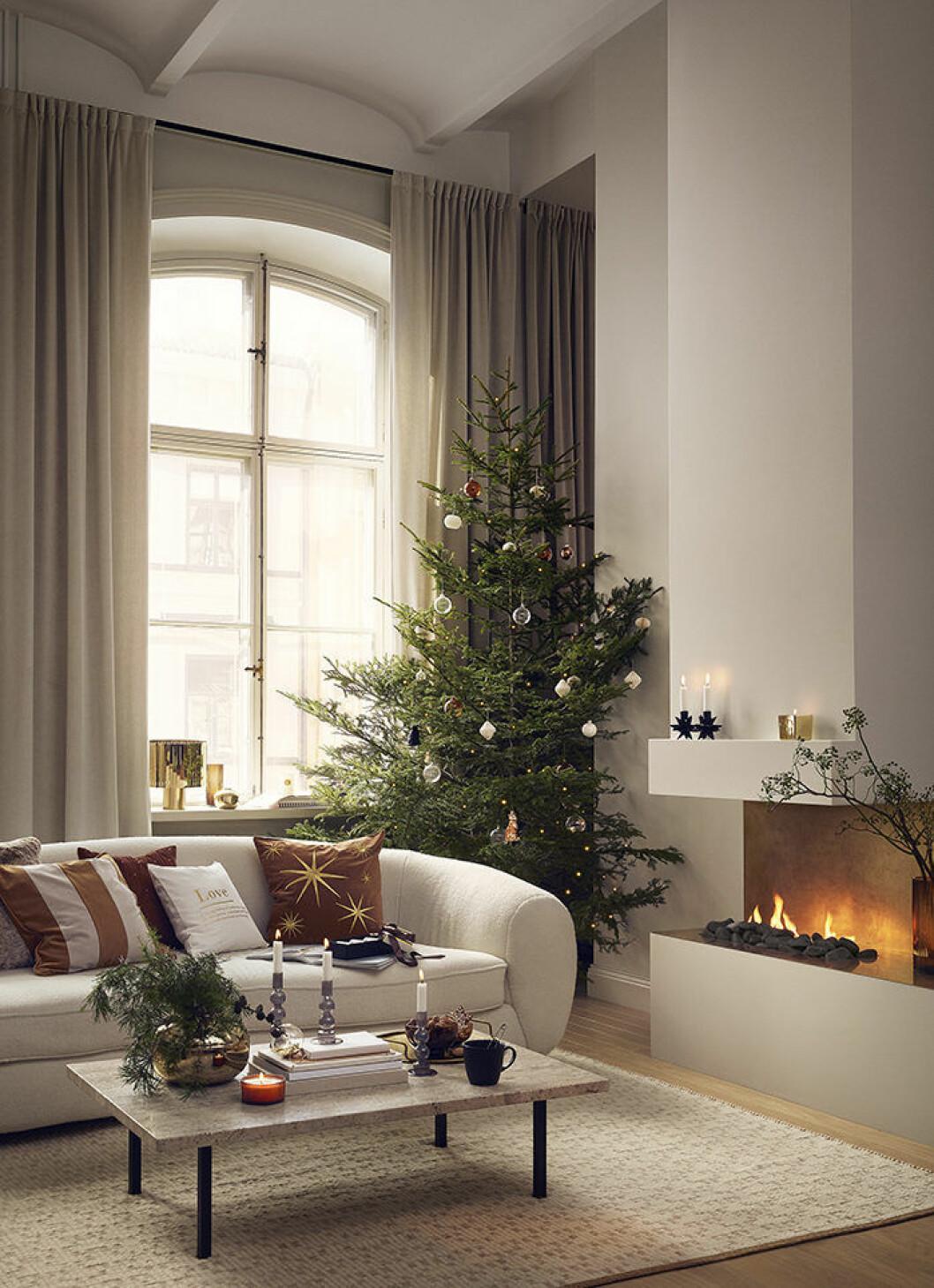 En av årets jultrender är den lyxiga känslan