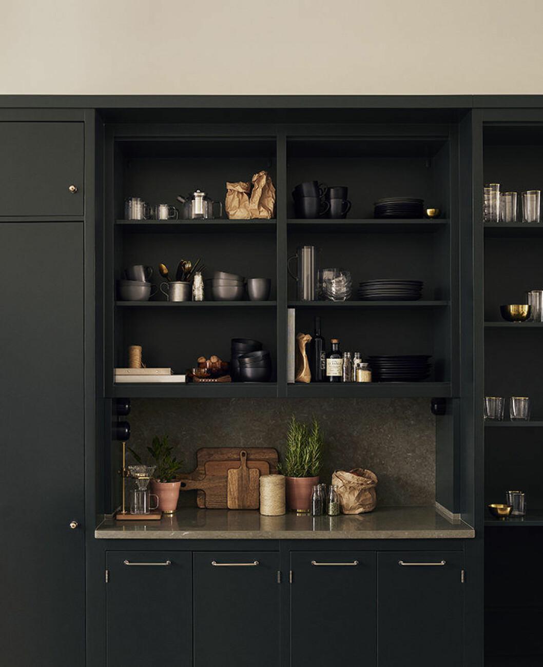 H&M Homes jul 2018 har detaljer för köket