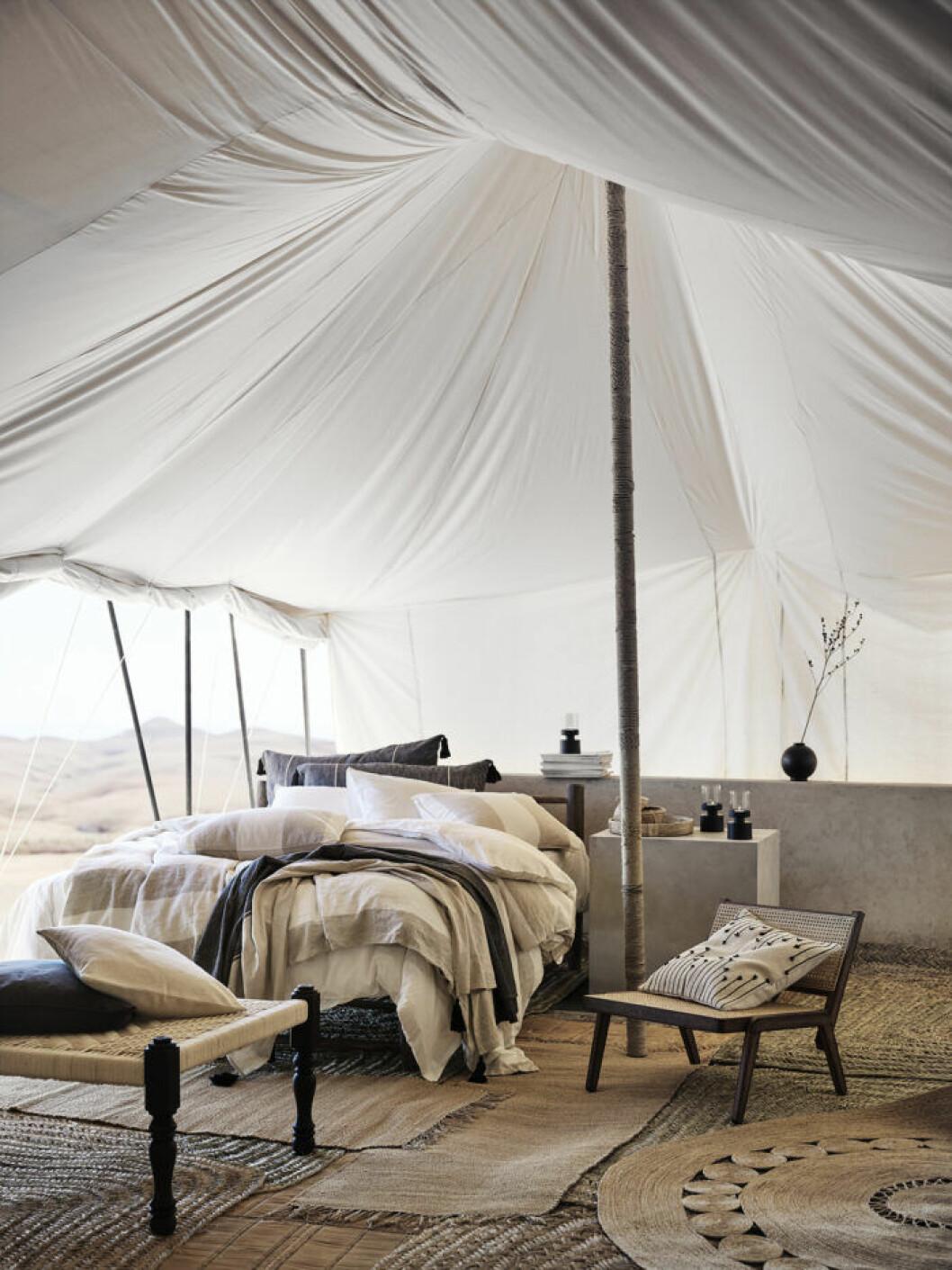 Sommarens sovrum hos H&M home