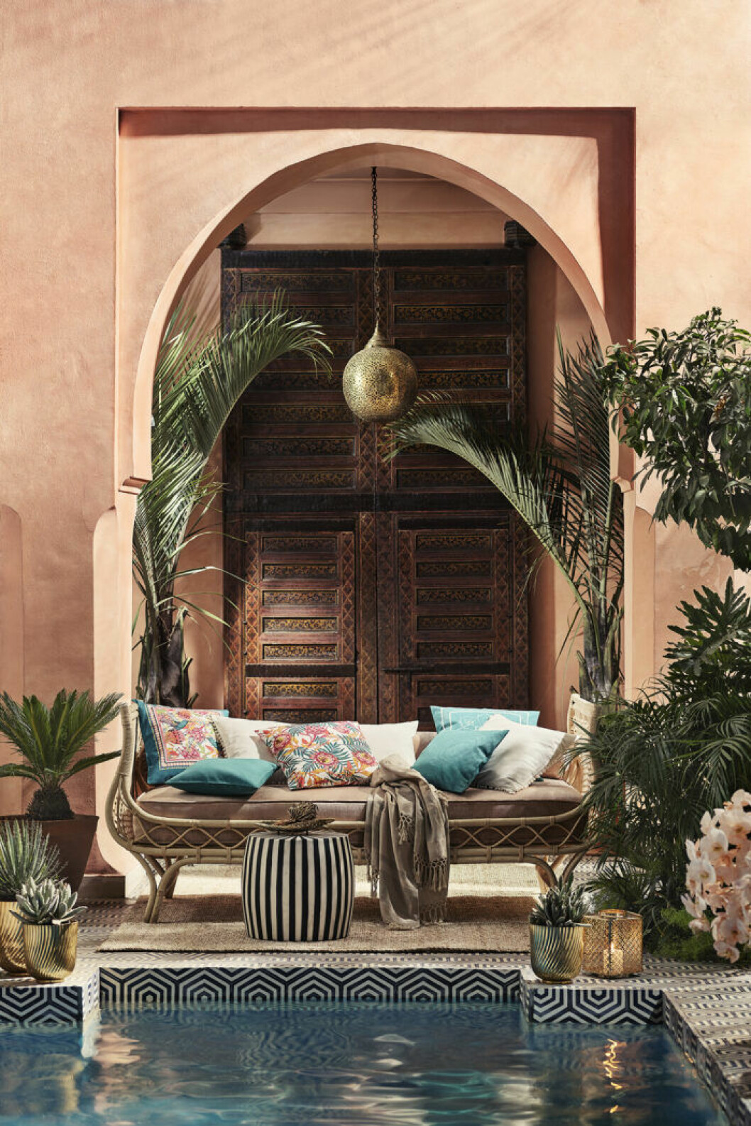 H&M home inspireras av Marrakech