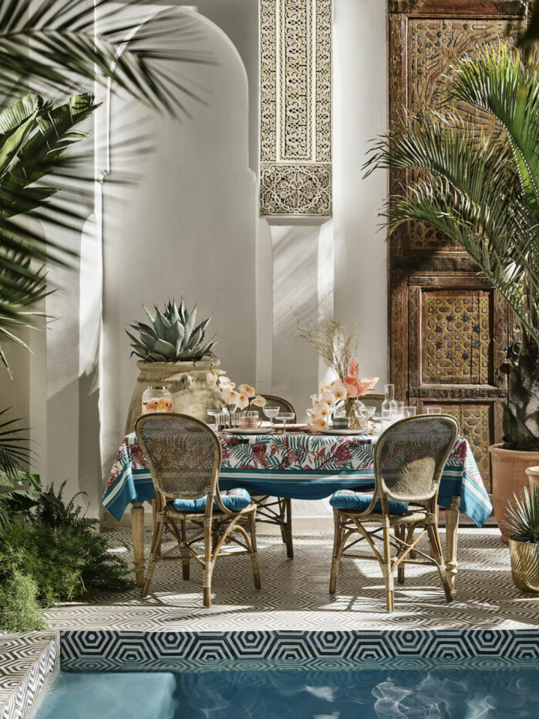 H&M home hämtar inspiration i Marrakech