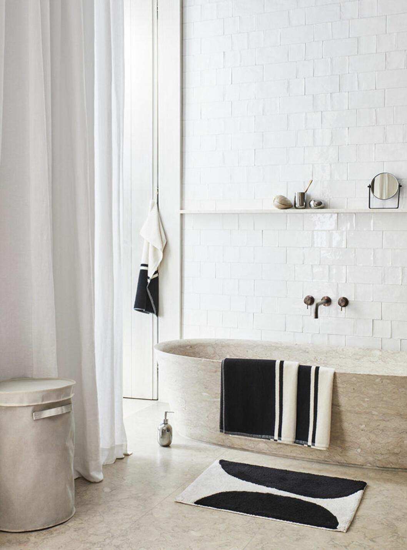 Vårnyheter till badrummet från H&M Home