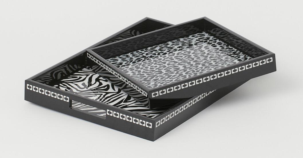 H&M home x Diane von Furstenberg mönstrade brickor