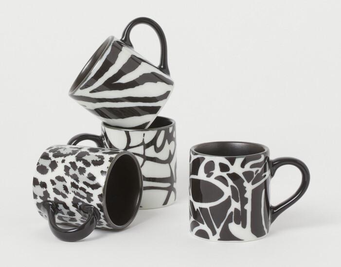 H&M home x Diane von Furstenberg espressokoppar