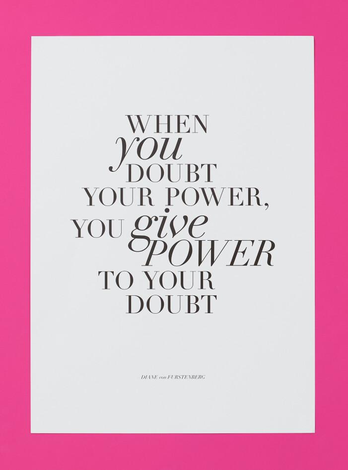 H&M home x Diane von Furstenberg poster