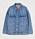 Klassisk blå jeansjacka i oversizad modell. Jeansjacka från H&M.
