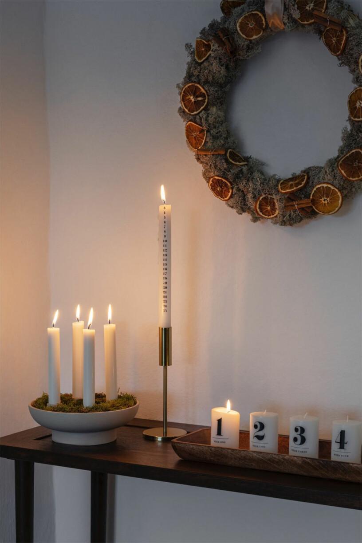 Adventsljus och ljusstakar från H&M Home
