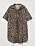 Oversizad skjortklänning med leopardmönster. Skjortklänning från H&M.