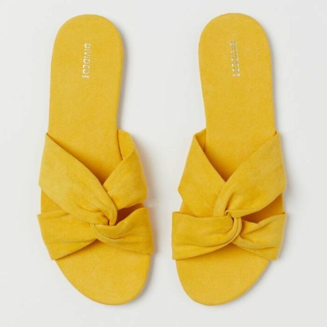 Gula sandaler från H&M