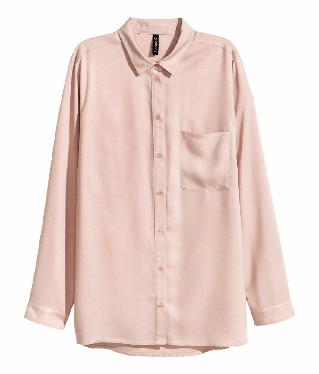 rosa-skjorta-hm