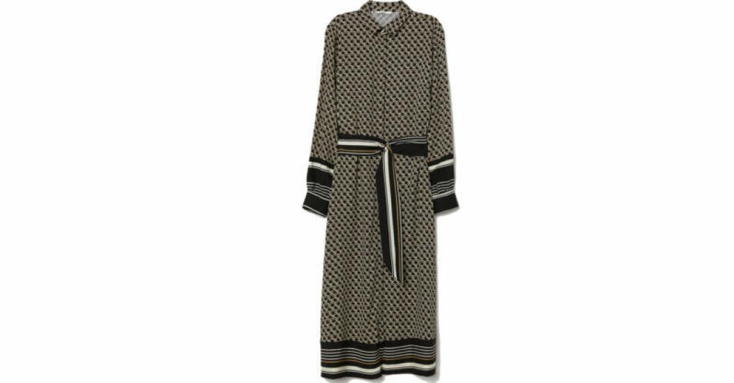 Vadlång klänning från H&M:s julkollektion