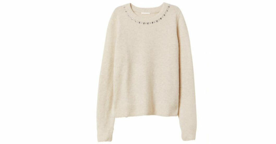 Finstickad tröja från H&M