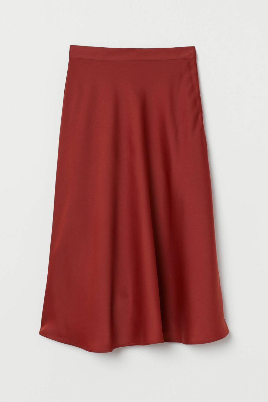 h6M rostrod kjol