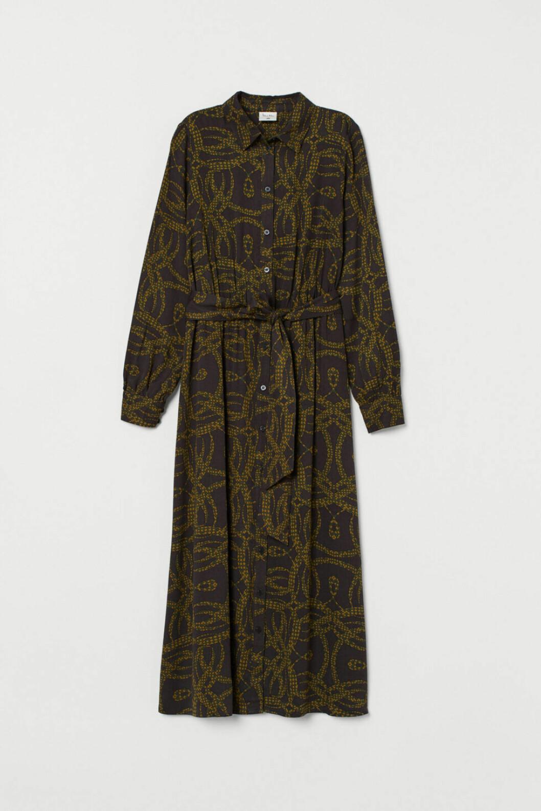 h&M samarbete richard allan klänning
