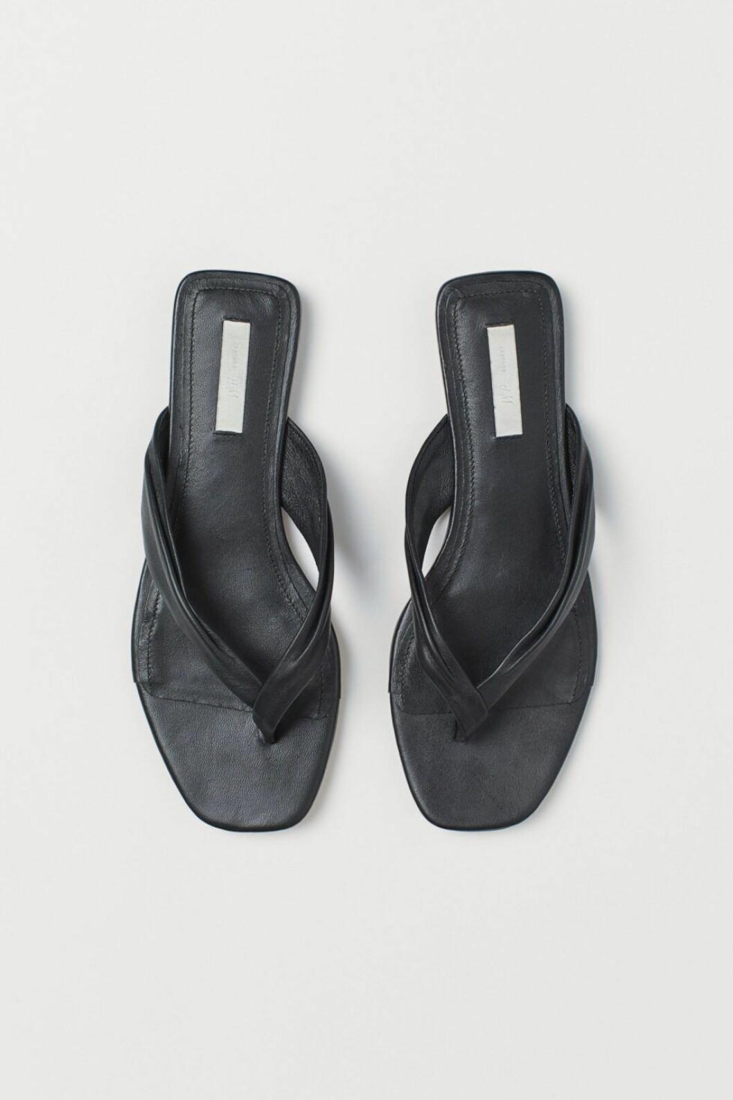 sandaler läder