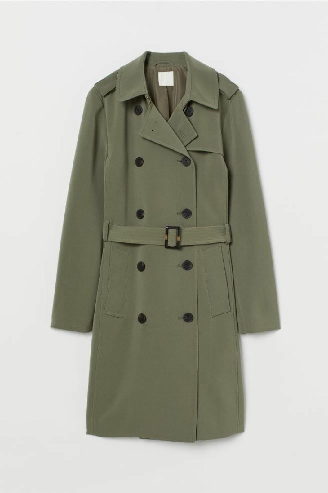 trenchcoat h&M grön