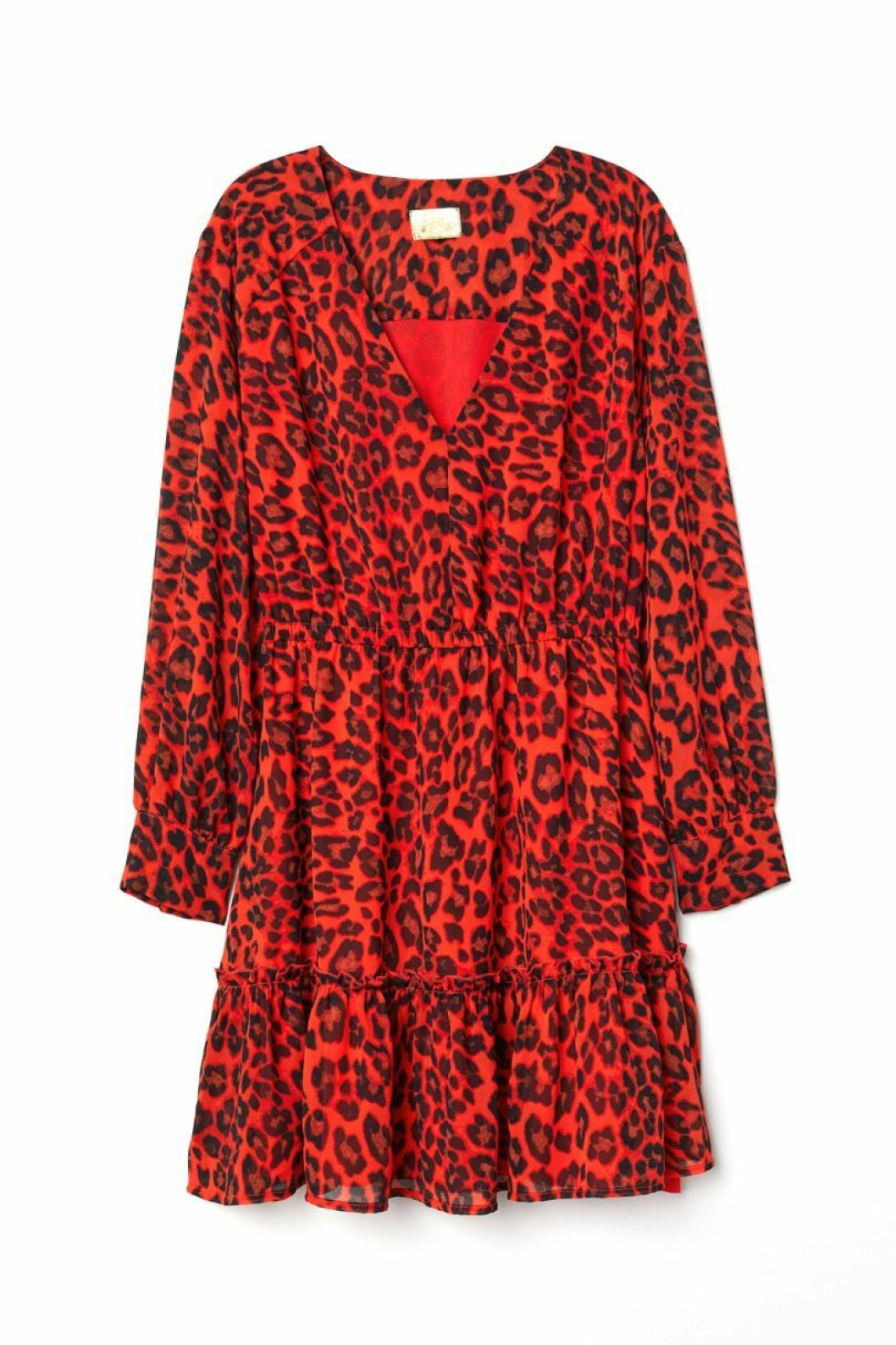 klänning-leopard-röd-hm