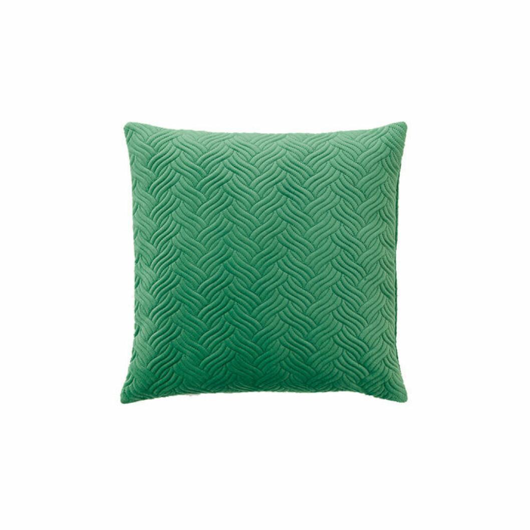Grönt kuddfodral