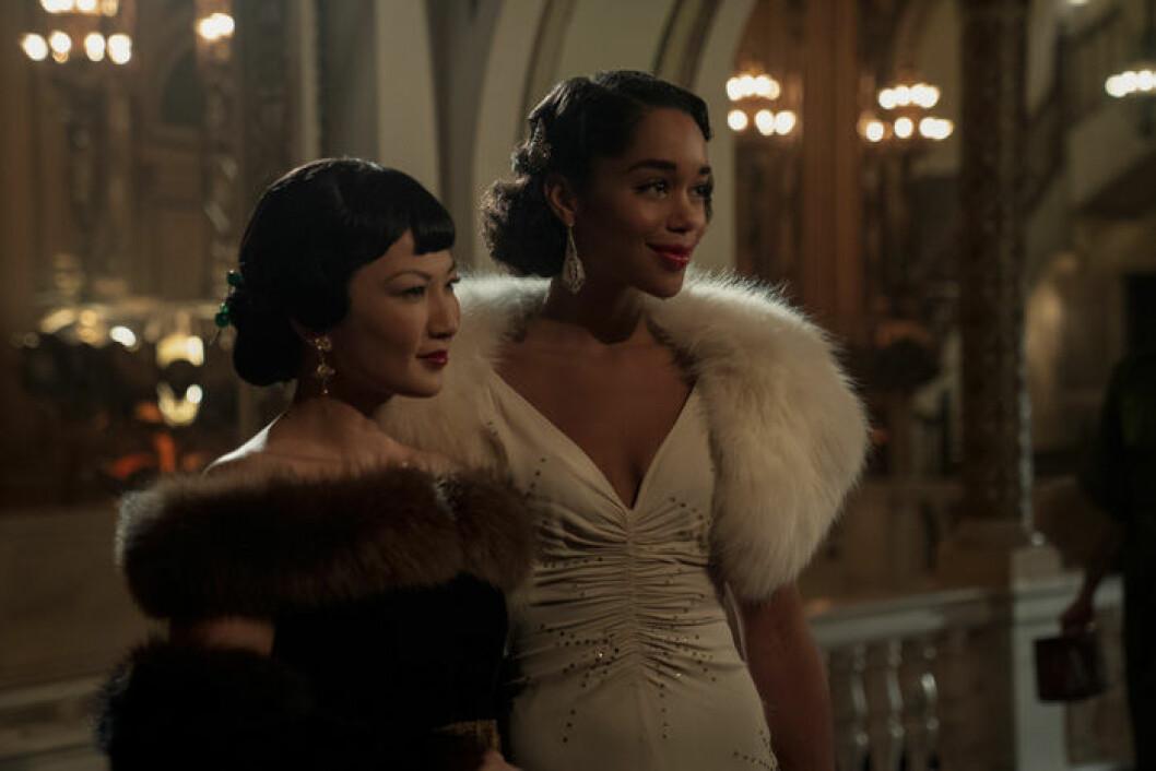 En bild från tv-serien Hollywood, som har premiär på Netflix den 1 maj.
