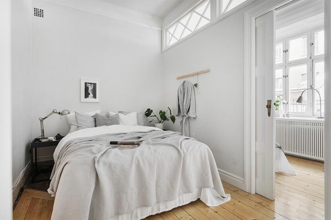 Stylat sovrum hos Erik Olsson