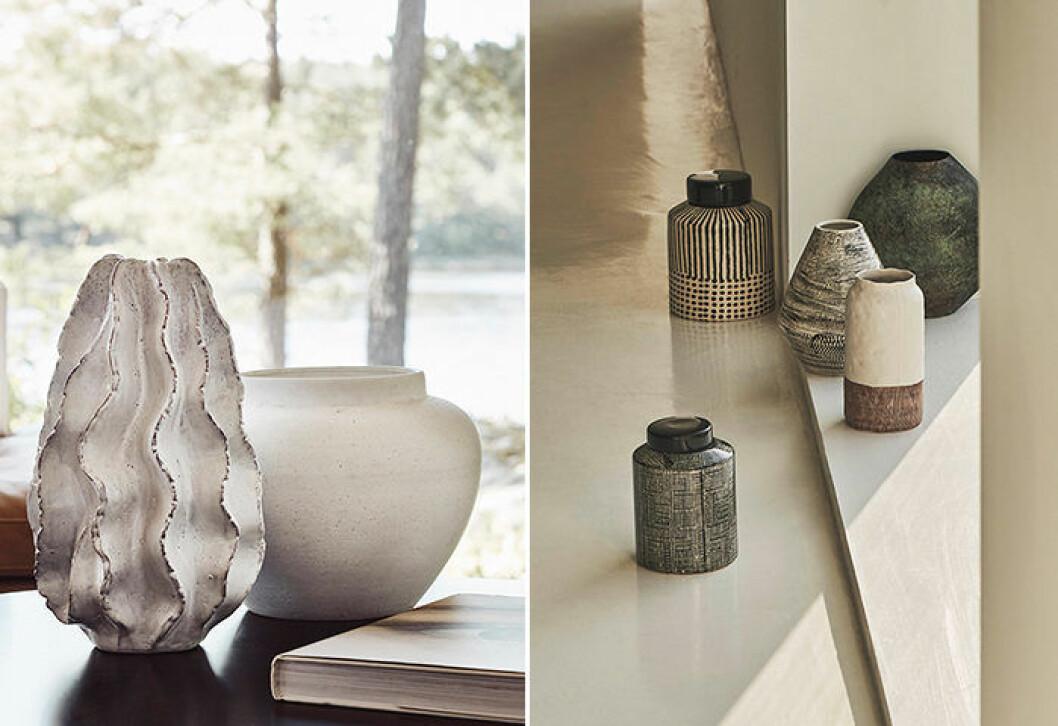 Keramik är en av höstens stora trender