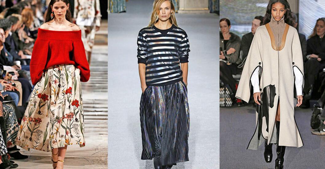 modetrender hösten 2018