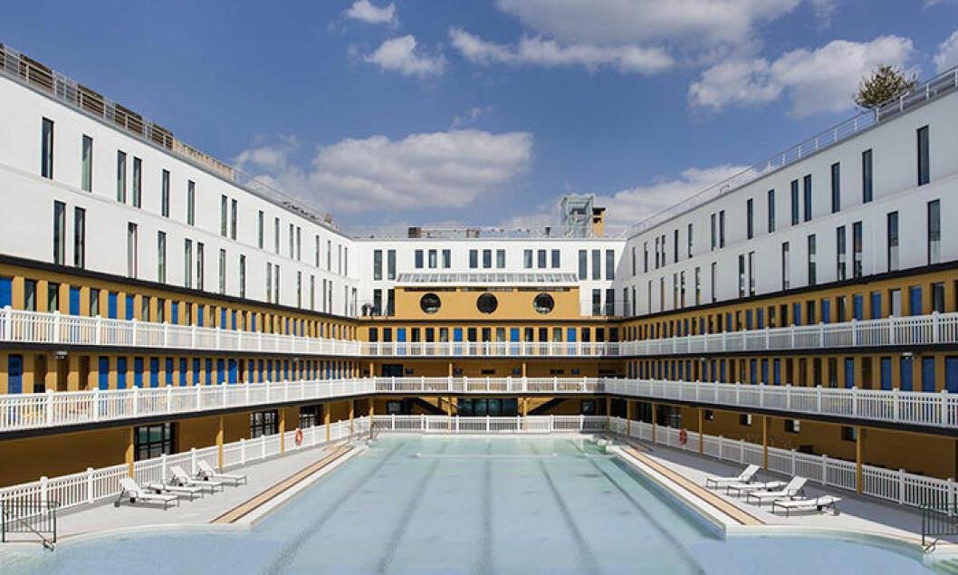Hotell med pool i paris – Hotel Molitor