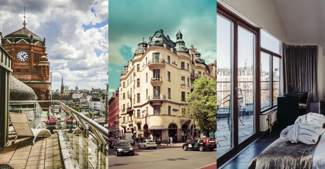 Hotell med balkong i Visby