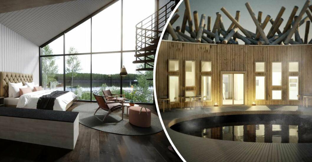 flytande hotell norrland