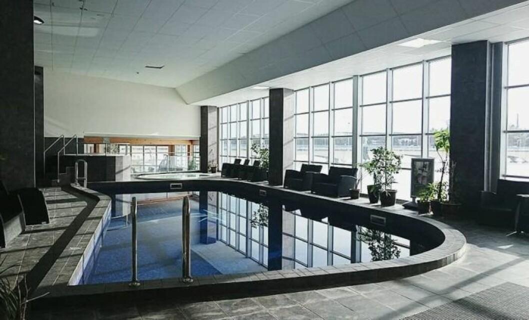Inomhuspool och relaxavdelning Hotell Lappland Lycksele