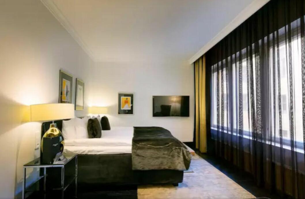 Hotellrum i Helsingfors