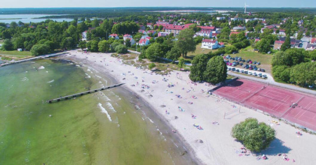 Hotell Slitebaden på Gotland.