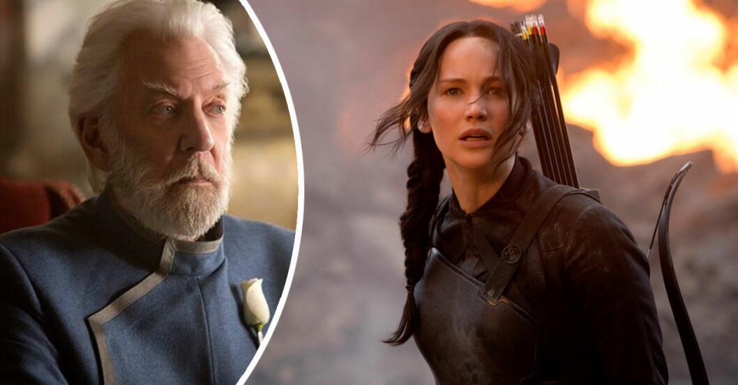 Katniss och Snow i Hunger Games