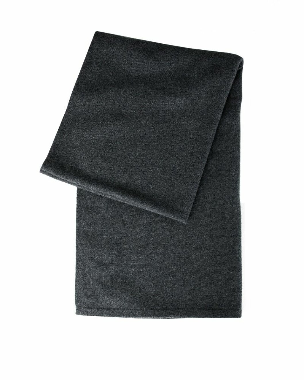 Mörkgrå halsduk i exklusiv kashmir